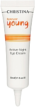 Perfumería y cosmética Crema de noche contorno de ojos con retinol - Christina Forever Young Active Night Eye Cream