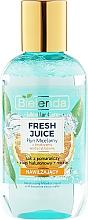 Perfumería y cosmética Agua micelar de naranja y ácido hialurónico - Bielenda Fresh Juice Micellar Water Orange