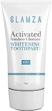 Perfumería y cosmética Pasta dental blanqueadora con carbón de bambú activado, sabor a menta - Glamza Activated Bamboo Charcoal Toothpaste