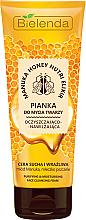 Perfumería y cosmética Espuma limpiadora con miel de manuka - Bielenda Manuka Honey Nutri Elixir Facial Foam