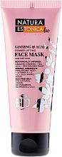 Perfumería y cosmética Mascarill facial con ginseng, acai y ácido hialurónico - Natura Estonica Ginseng & Acai Face Mask