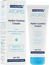 Perfumería y cosmética Crema para rostro y cuerpo hidratante con aceite de cáñamo orgánico - Novaclear Atopis Hydro-Control Cream
