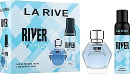 Perfumería y cosmética La Rive River Of Love - Set (eau de parfum/100ml + desodorante/150ml)