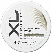 Perfumería y cosmética Cera moldeadora de cabello con extracto de manzana - Grazette XL Concept Creative Wax