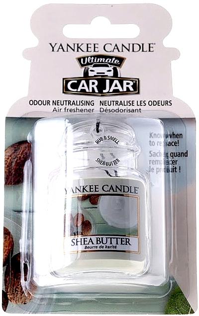 Ambientador de coche, manteca de karité - Yankee Candle Car Jar Ultimate Shea Butter — imagen N1
