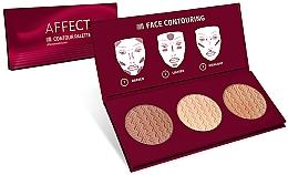 Perfumería y cosmética Paleta para contorno facial - Affect Cosmetics Contour Palette