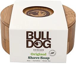 Perfumería y cosmética Jabón de afeitar con aloe vera y té verde, jabonera de bambú - Bulldog Skincare Original Shave Soap In A Bamboo Bowl