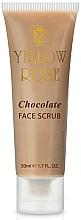 Perfumería y cosmética Exfoliante facial a base de cacao con microperlas y alantoína - Yellow Rose Chocolate Face Scrub