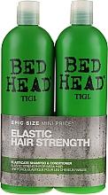 Perfumería y cosmética Set fortalecedor para cabello - Tigi Bed Head Elasticate (campú/750ml + acondicionador/750ml)