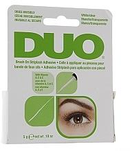 Perfumería y cosmética Pegamento para pestañas postizas con pincel - Duo Brush-On Lash Adhesive