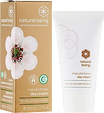 Perfumería y cosmética Crema facial con extracto de miel de manuca, manteca de karité y vitamina E - Natural Being Manuka Honey Day Cream
