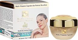 Perfumería y cosmética Tratamiento antiedad para cuello y escote en cápsulas - Health And Beauty Multi-Vitamin Capsules For Neck And Decollete