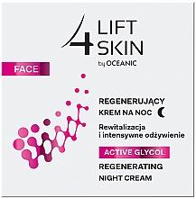 Perfumería y cosmética Crema de noche con glicol activo, aceite de argán & manteca de karité - Lift4Skin Active Glycol Regenerating Night Cream