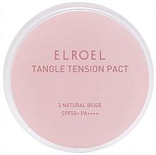 Perfumería y cosmética Base de maquillaje compacta matificante para pieles grasas - Elroel Tangle Tension Pact SPF 50+/PA ++++