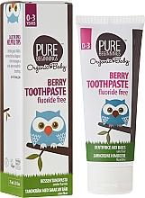 Perfumería y cosmética Pasta dental con extracto orgánico de baobab & romero sin fluoruro - Pure Beginnings Baby Berry Toothpaste