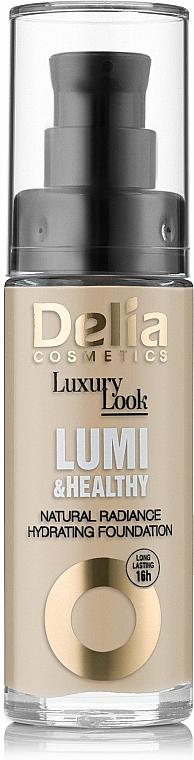Base de maquillaje hidratante e iluminadora con extracto de baobab - Delia Cosmetics Luxury Look Lumi & Health