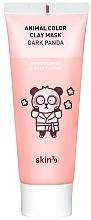 Perfumería y cosmética Mascarilla facial con arcilla caolín y aceite de bergamota - Skin79 Animal Color Clay Mask Dark Panda