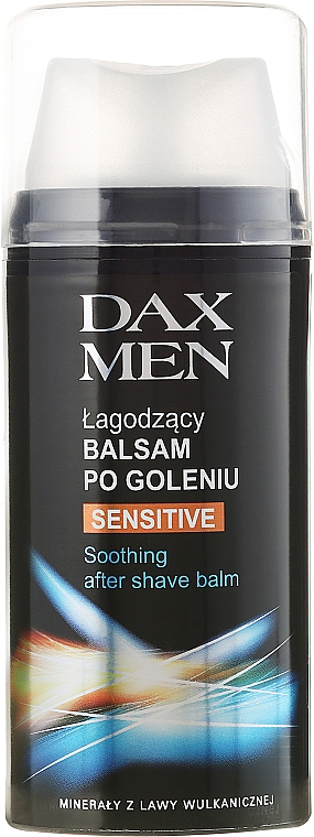 Bálsamo aftershave calmante con alantoína y vitamina C y E - Dax Men Sensitive Soothing After Shave Balm — imagen N1