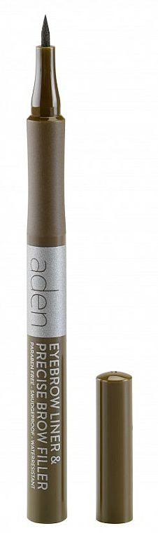 Marcador de cejas - Aden Cosmetics Eyebrow Liner & Precise Brow Filler
