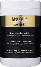 Perfumería y cosmética Sales de baño del Mar Muerto con coenzima Q10 y bayas de goji - BingoSpa Salt For Bath SPA of Dead Sea