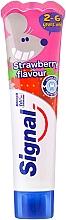Perfumería y cosmética Pasta dental sabor a fresa con fluoruro - Signal Kids Toothpaste