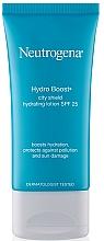 Perfumería y cosmética Loción facial hidratante con ácido hialurónico, SPF 25 - Neutrogena Hydro Boost City Shield Hydrating Lotion SPF 25