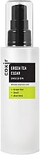 Perfumería y cosmética Emulsión facial limpiadora con extractos de té verde, aloe vera y baba de caracol - Coxir Green Tea BHA Clear Emulsion