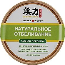 Perfumería y cosmética Polvo dental con extracto de stevia y aceite de hierbabuena - Modum Kampo