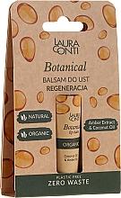 Perfumería y cosmética Bálsamo labial reparador con aceite de coco y ámbar - Laura Conti Botanical Lip Balm