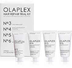 Perfumería y cosmética Kit reparación de cabello - Olaplex Hair Repair Trial Kit (champú/30ml + acondicionador/30ml + elixir/30ml + crema/30ml)