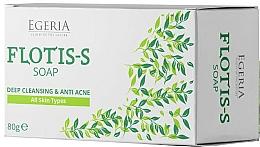 Perfumería y cosmética Jabón antiacné con sulfato de zinc y extracto de sauce - Egeria Flotis-s Soap