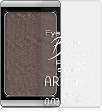 Perfumería y cosmética Polvo compacto para cejas - Artdeco Eye brow Powder