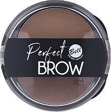 Perfumería y cosmética Sombra de cejas con aplicador - Bell Perfect Brow Set