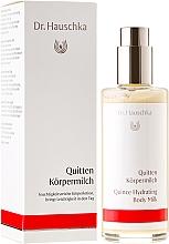 Perfumería y cosmética Leche natural corporal hidratante de membrillo - Dr. Hauschka Quince Hydrating Body Milk