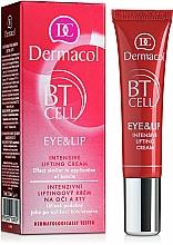 Perfumería y cosmética Sérum intensivo para contorno de ojos y labios con extracto de camomila marítima - Dermacol BT Cell Eye&Lip Intensive Lifting Cream