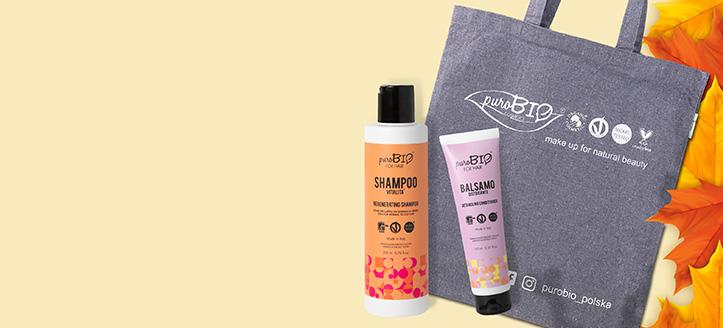 Llévate un bolso shopper de regalo por la compra de productos PuroBio Cosmetics superior a 18 €