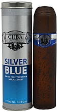 Perfumería y cosmética Cuba Silver Blue - Eau de toilette