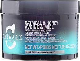 Perfumería y cosmética Mascarilla capilar intensiva con extracto de avena y miel - Tigi Catwalk Oatmeal & Honey Nourishing Mask