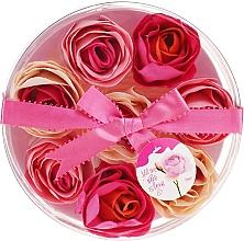 Perfumería y cosmética Confeti de baño con aroma a rosa, 8uds. - Spa Moments Bath Confetti Rose