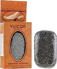 Perfumería y cosmética Piedra pómez (98x58x37mm) - Vulcan Pumice Stone Dark Grey