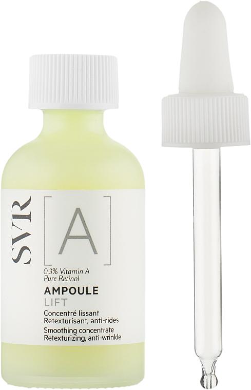 Concentrado facial con vitamina A - SVR [A] Ampoule Lift Smoothing Concentrate