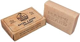 Perfumería y cosmética Jabón natural exfoliante para barba con coco - Man's Beard Savon Exfoliant Coconut Soap