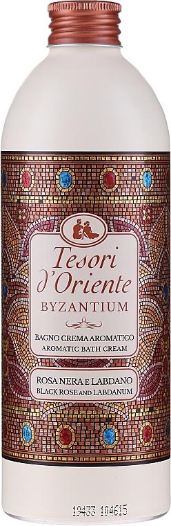 Tesori d`Oriente Byzantium Bath Cream - Crema de baño con extracto de rosa y ládano — imagen N1