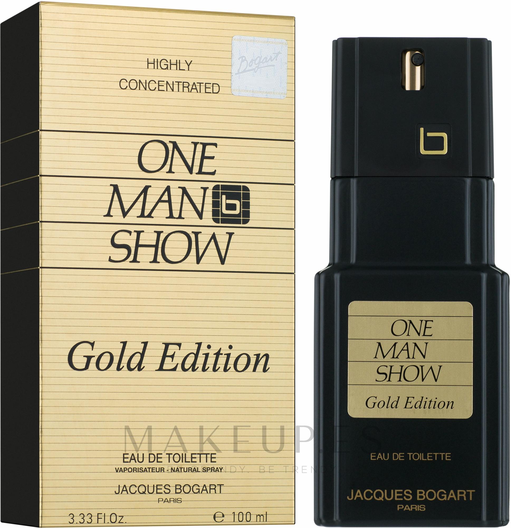Bogart One Man Show Gold Edition - Eau de toilette — imagen 100 ml