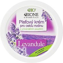 Perfumería y cosmética Crema facial con aceite de lavanda - Bione Cosmetics Lavender Facial Cream Whole Family