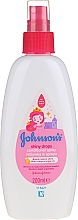 Perfumería y cosmética Spray acondicionador infantil con aceite de argán - Johnson's Baby