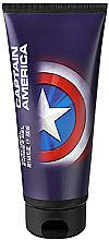 Perfumería y cosmética Gel de ducha con vitamina E - Marvel Captain America Shower Gel