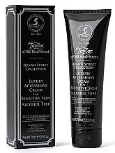 Perfumería y cosmética Taylor of Old Bond Street Jermyn Street Aftershave Cream - Crema aftershave, sin alcohol, pieles sensibles