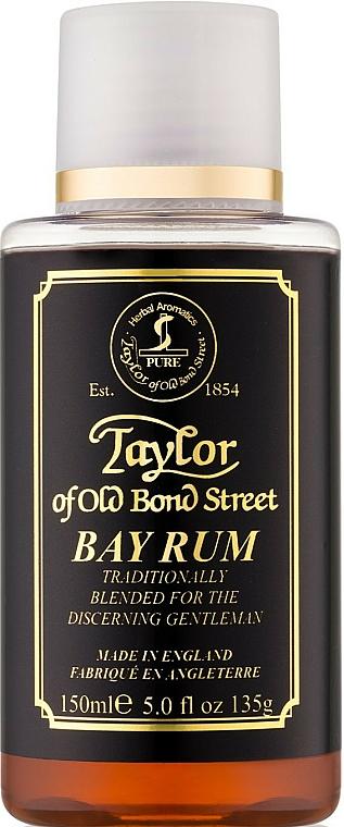 Taylor of Old Bond Street Bay Rum - Loción aftershave con hojas de laurel & ron