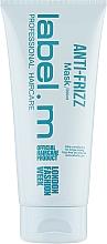 Perfumería y cosmética Mascarilla capilar antiencrespamiento - Label.m Anti-Frizz Mask